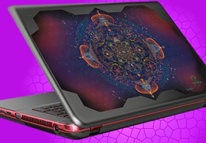"Lap top skin ""one God "" Design"